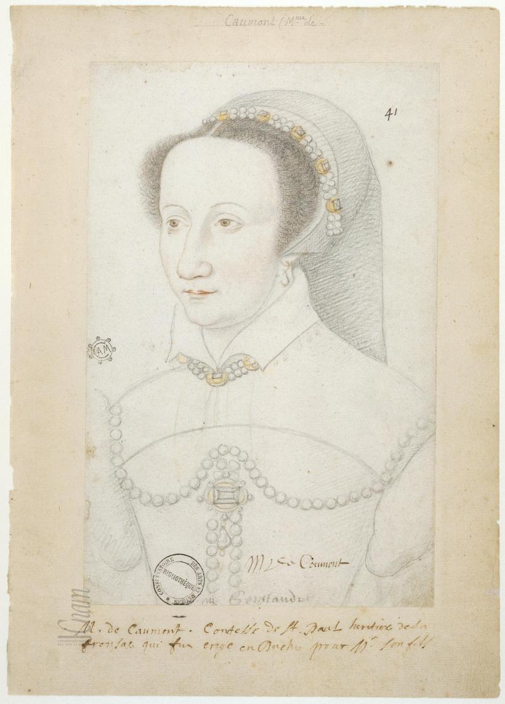 date unkown - Jacqueline de Lustrac, dame de Caumont