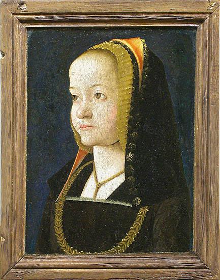1500 c - Jean PERREAL - Portrait de femme