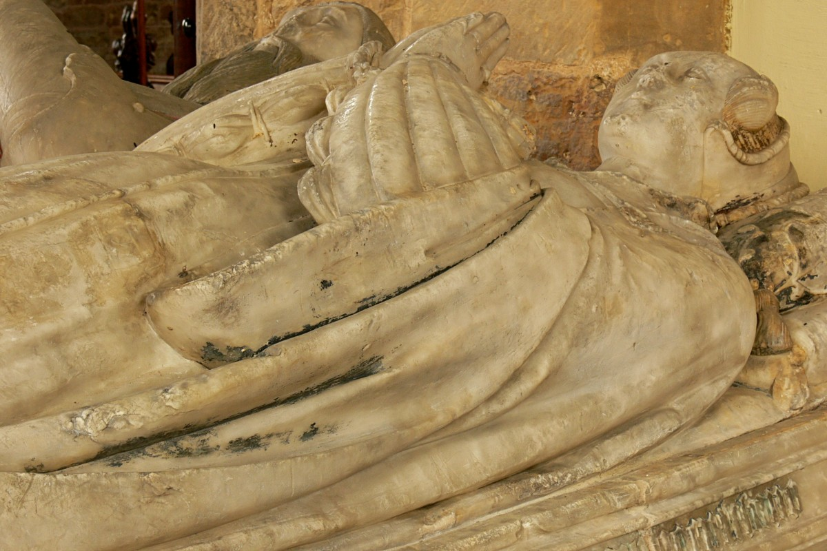1550s - Tudor tomb of Sir Thomas Andrews and his two wives
