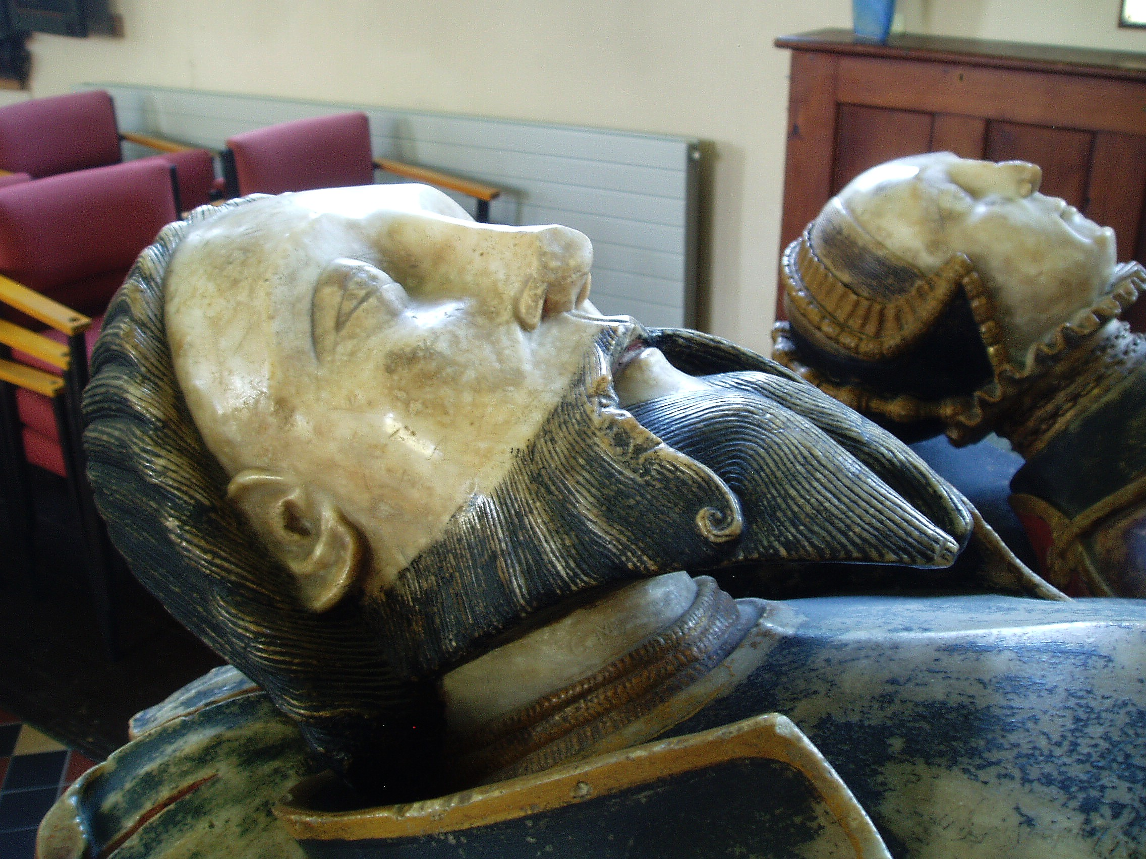 1559 - Sir Fulke & Lady Greville Tomb