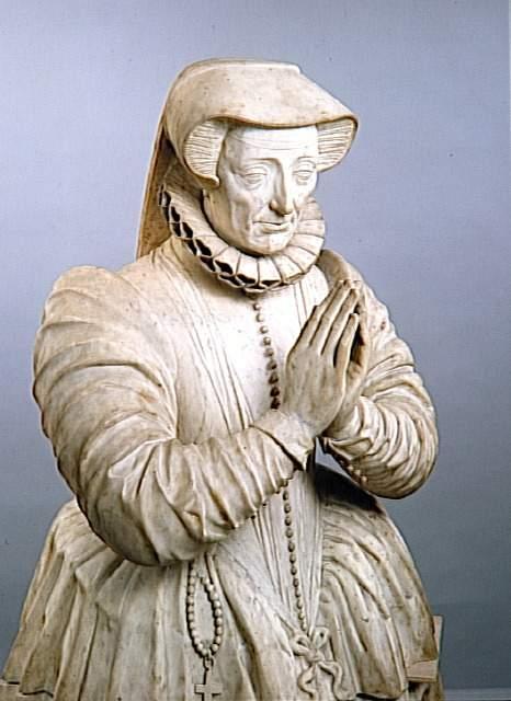1580s - Jeanne de Vivonne, veuve de Claude de Clermont