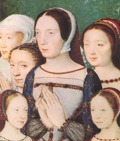 1520 (approx) - Claude de France & daughters