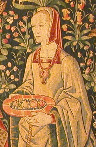 1500 (approx) - French tapestry - Tenture de la Vie Seigneuriale