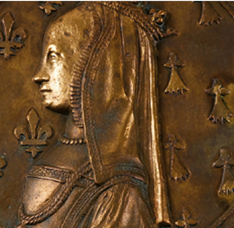1499 - 'Portrait of Anne of Brittany'- Medal (reverse)