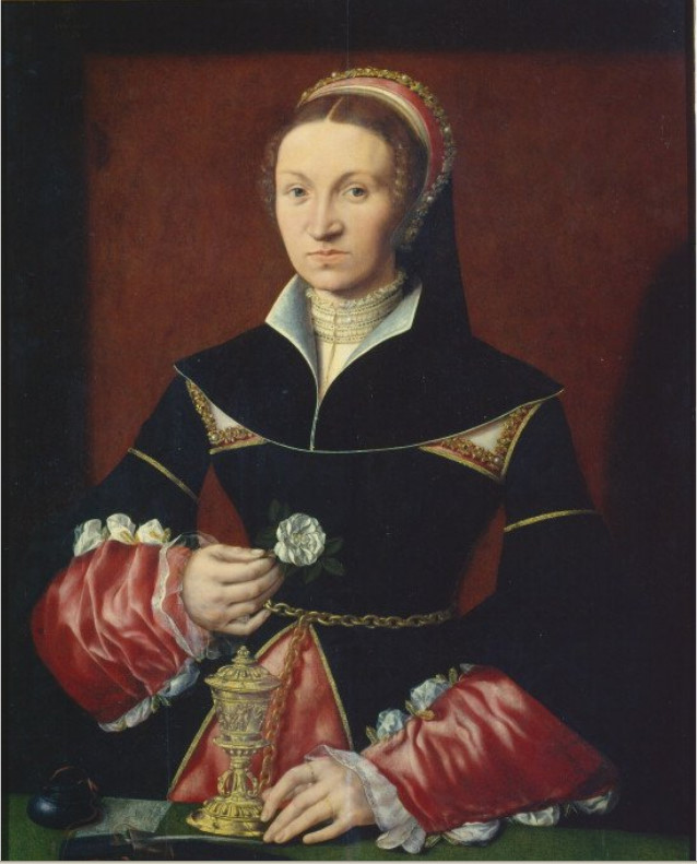 1536 - Lady by Master A. W.
