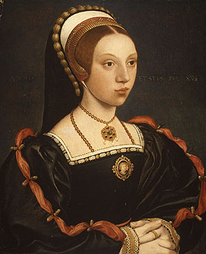 1543 - Portrait of a young woman - Holbein