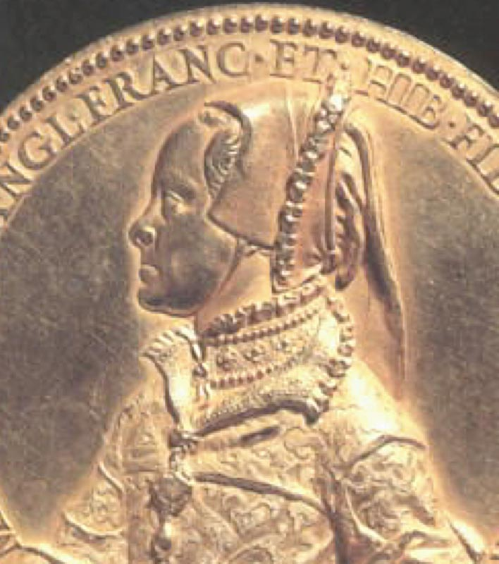 1555 - Mary Tudor, Queen of England