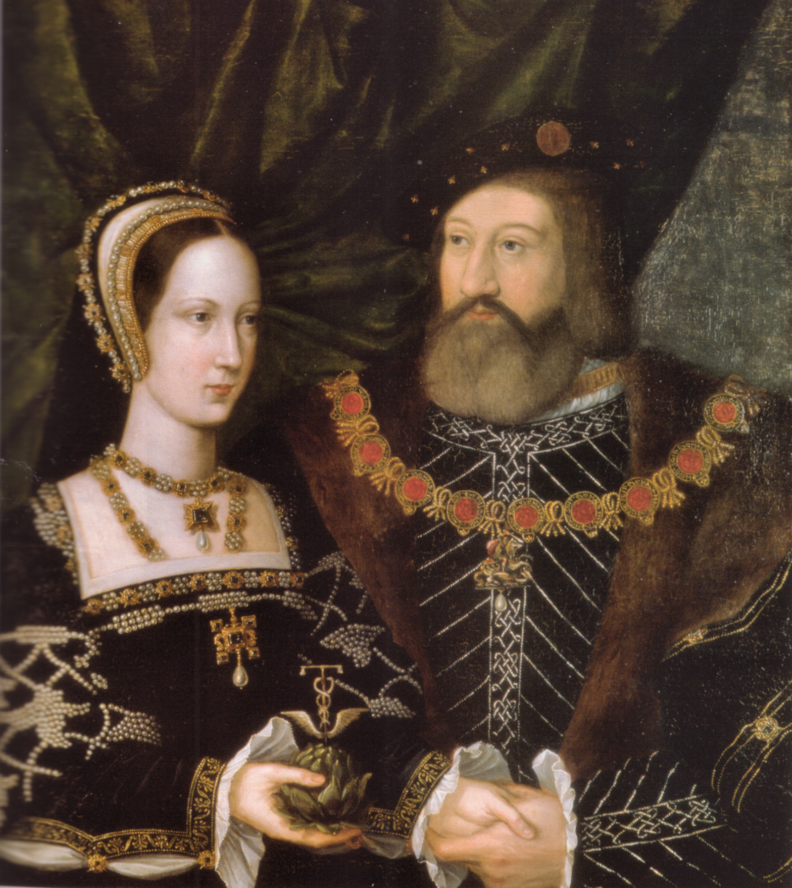 1516 - Princess Mary Tudor and Charles Brandon