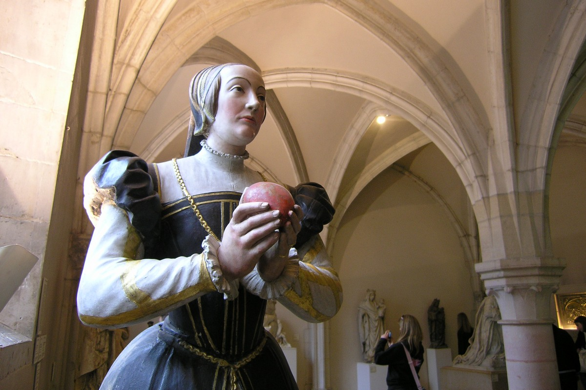 1571 - scultpure pour le monument funéraire d'Antoinette de Fontette