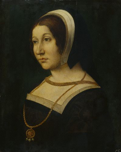 1520 - by Jean Perreal, Unknown woman, formerly known as Margaret Tudor