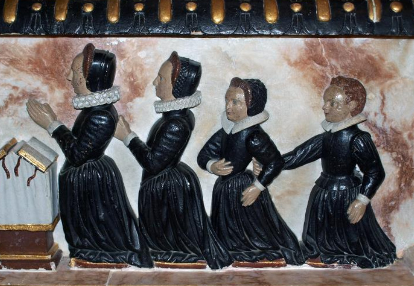 1599 - from the tomb of Sir Edward Denny
