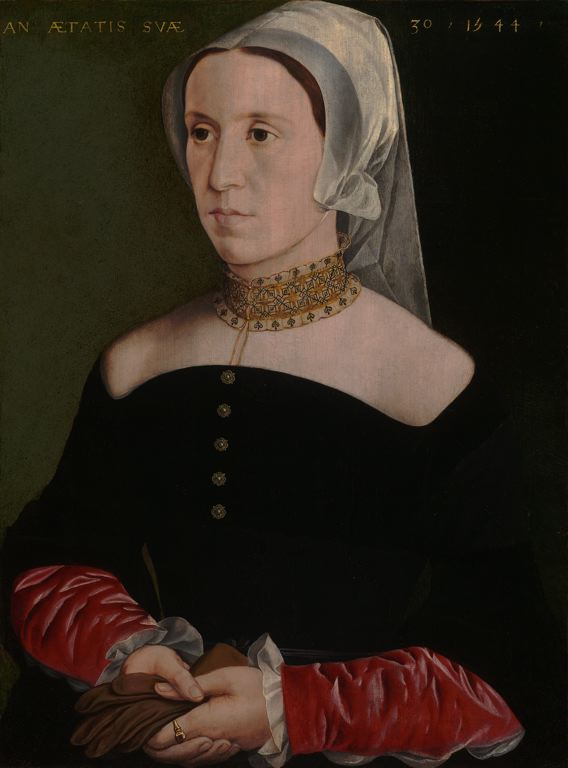 1544 - portrait of a woman - artist unkown (Flemish)