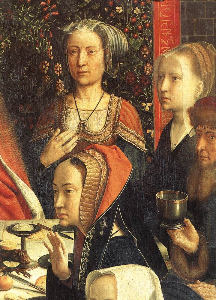 1500 - DAVID, Gerard - The Marriage at Cana