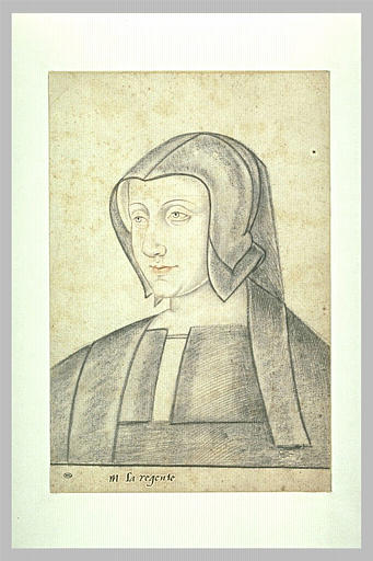 1525 (estimated) - Portrait de la régente, Louise de Savoie