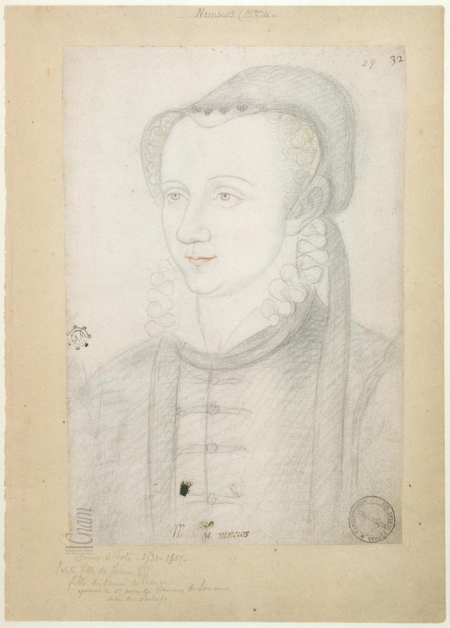 1570s (approx) - Anne d'Este, duchesse de Guise