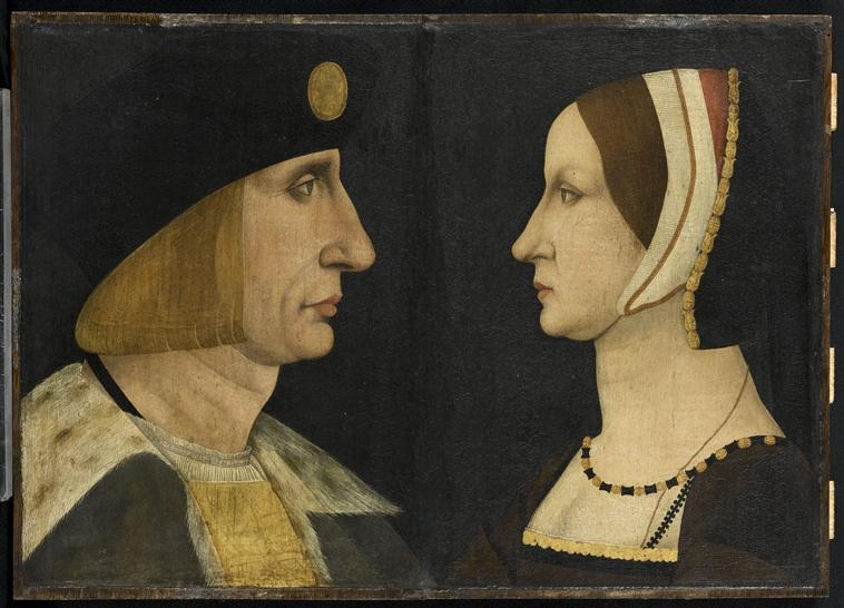1514 (approx) - Louis XII (1462-1515) et d'Anne de Bretagne (1476-1514)