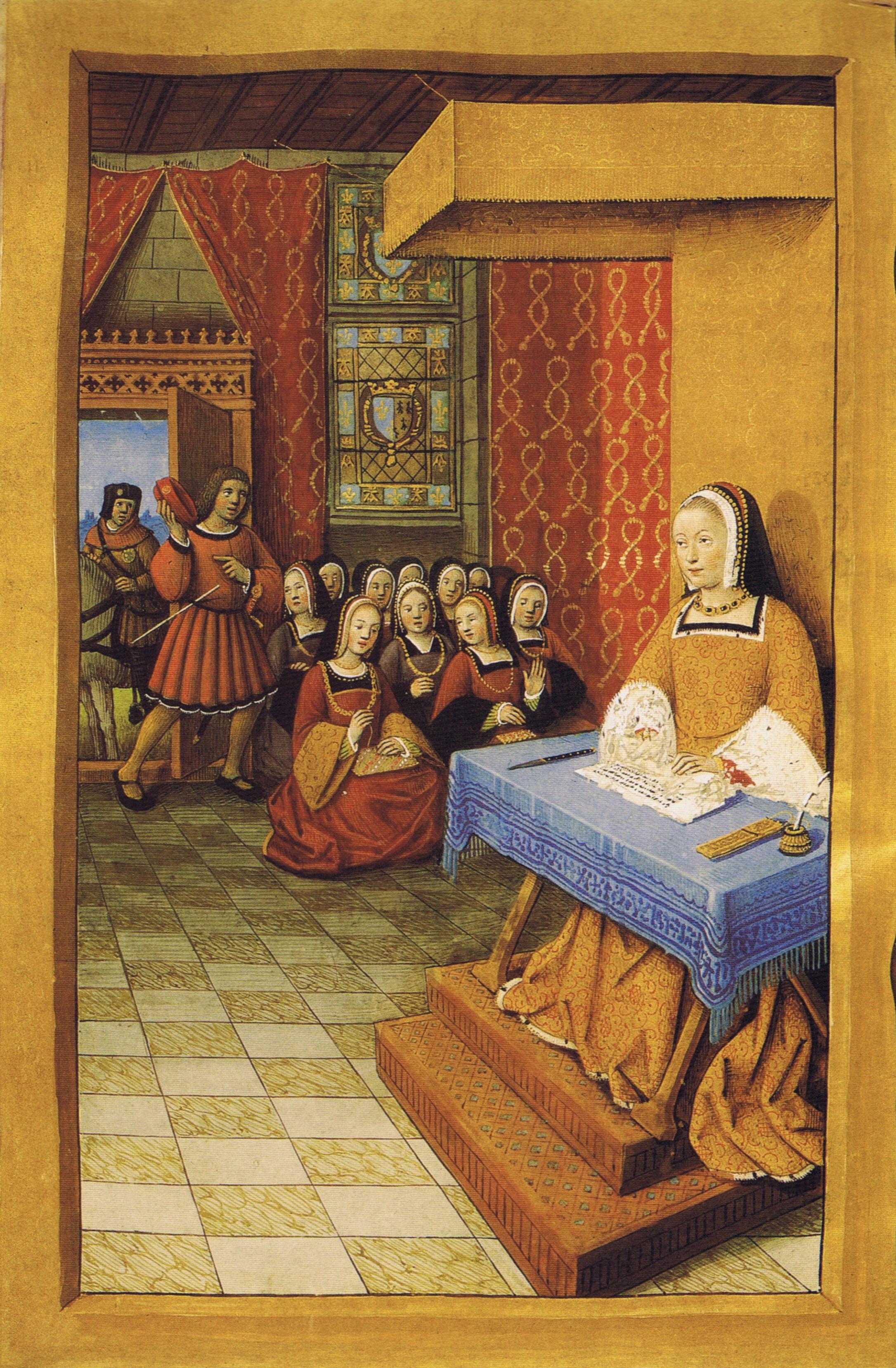 """1504 (approx) - """"Epistres Envoyées au Roi"""""""
