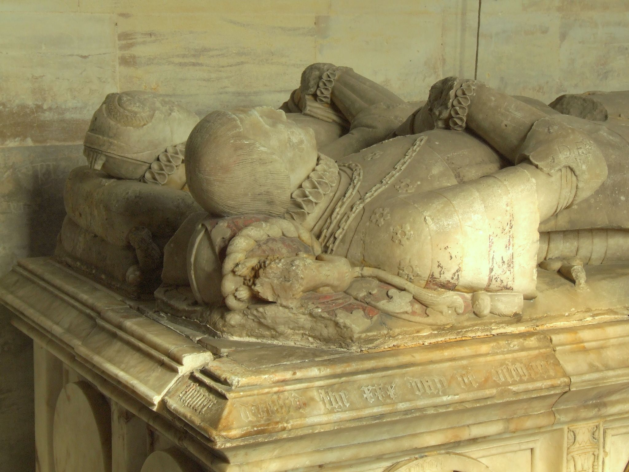 1558 - Monument of Thomas Denton (died 1558) and his wife