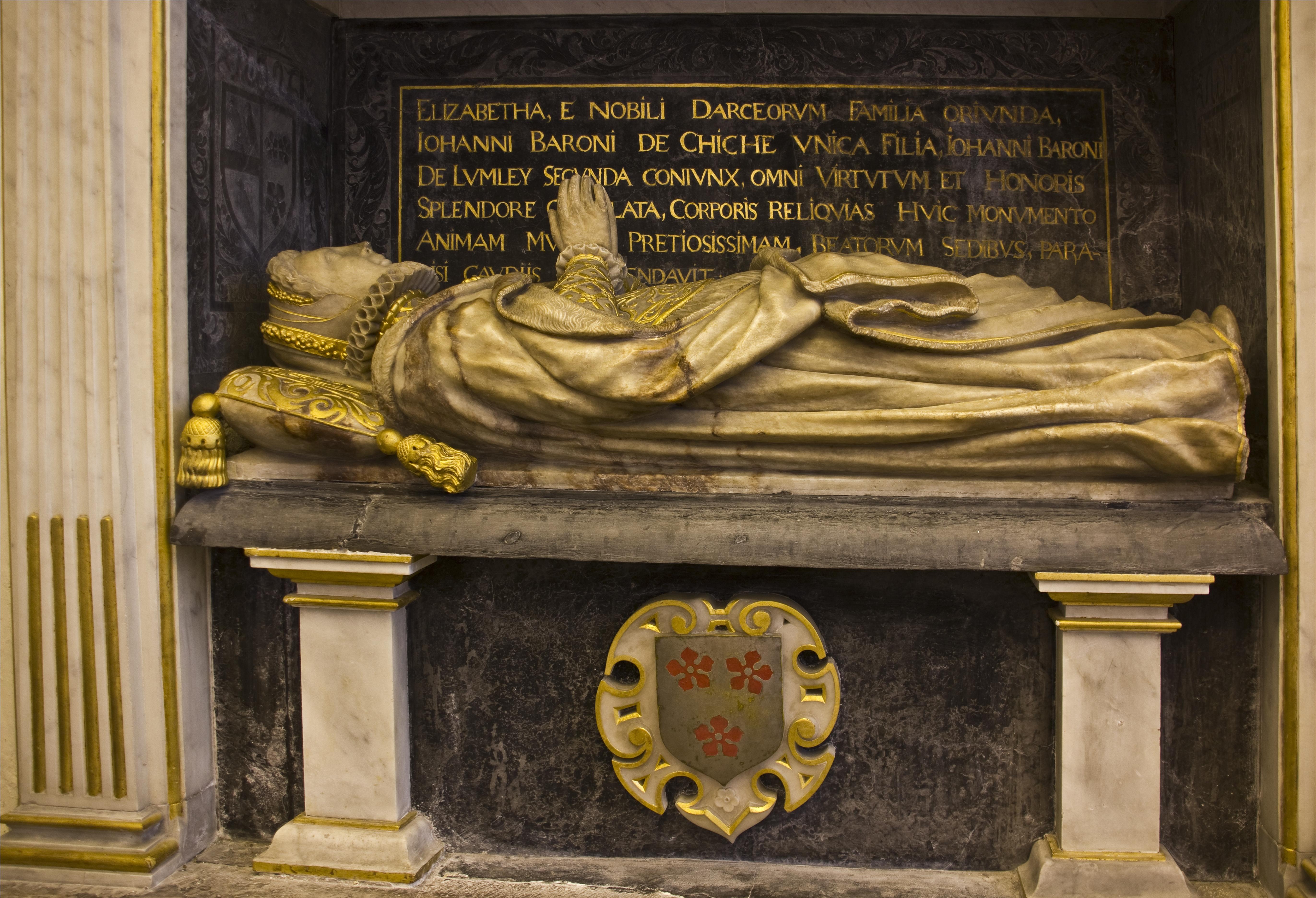 1590 (est) - Elizabeth Darcy Lady Lumley