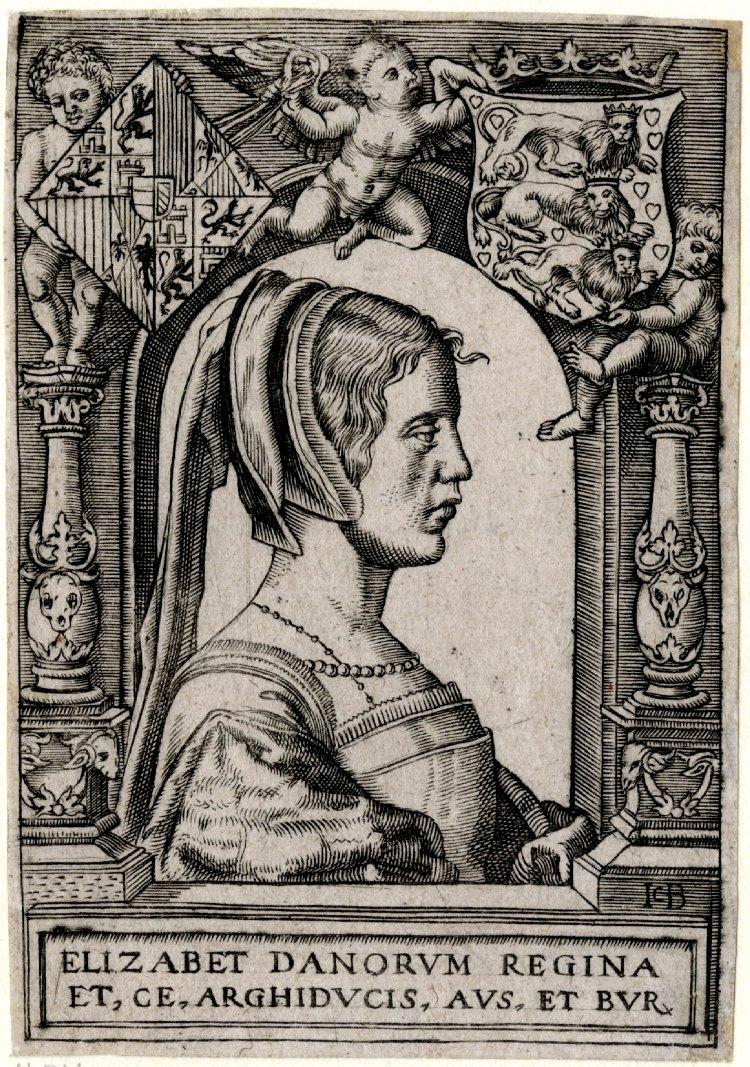 1525 - Elizabeth of Austria