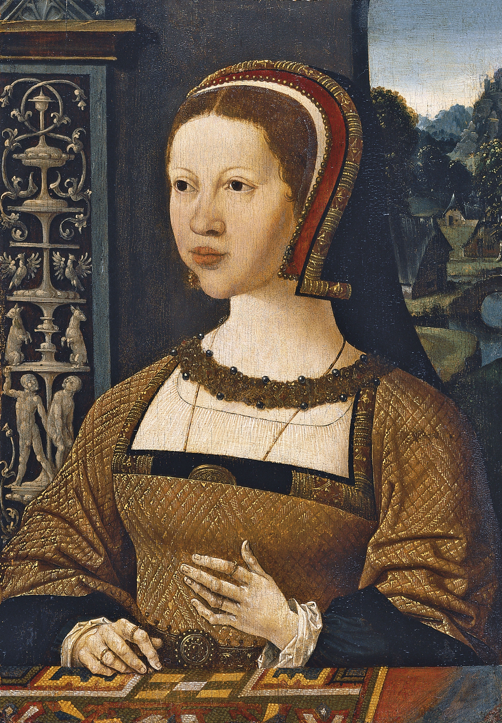 1524 - unknown, possibly Elizabeth of Denmark or Isabel de Dinamarca