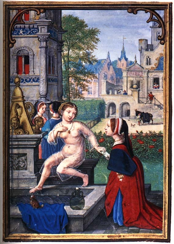 1530s - Bathsheba, by Simon Bening,