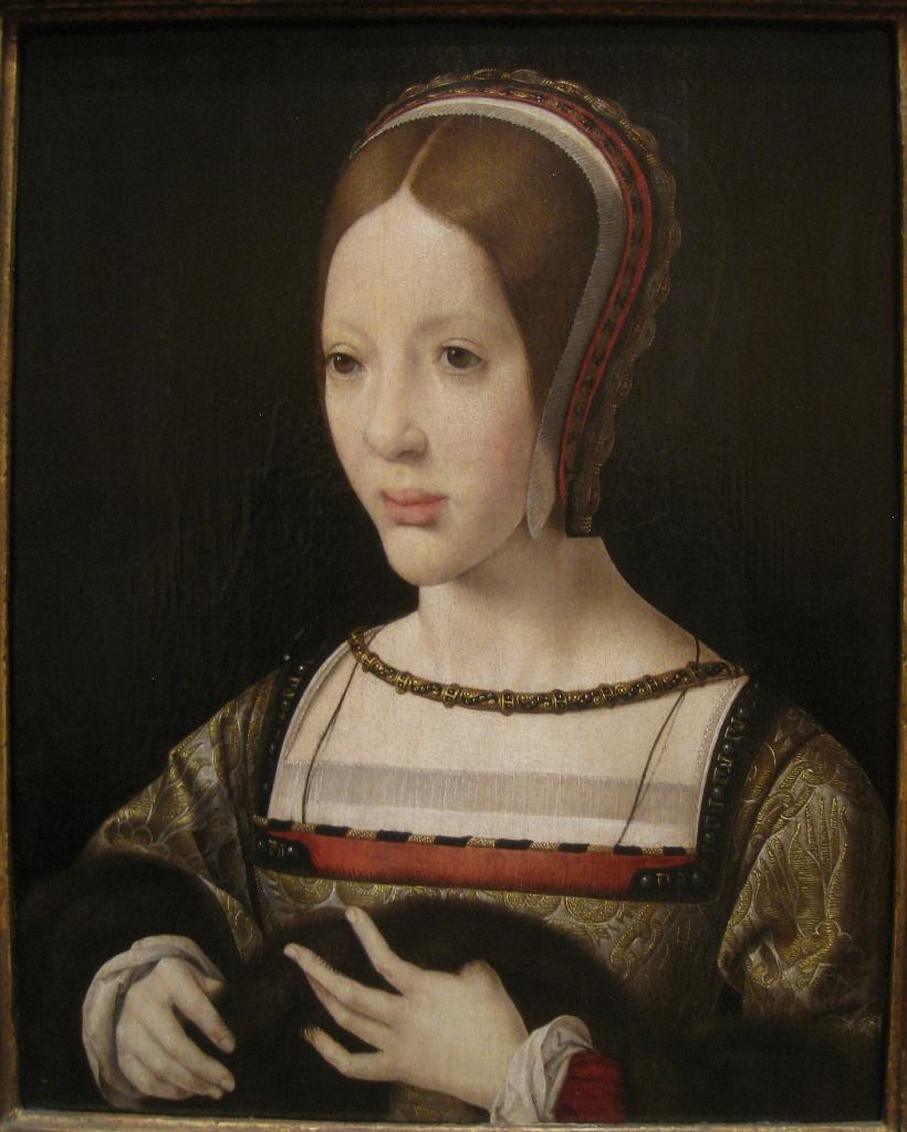 1516 - Queen Eleanor of Austria by Mabuse