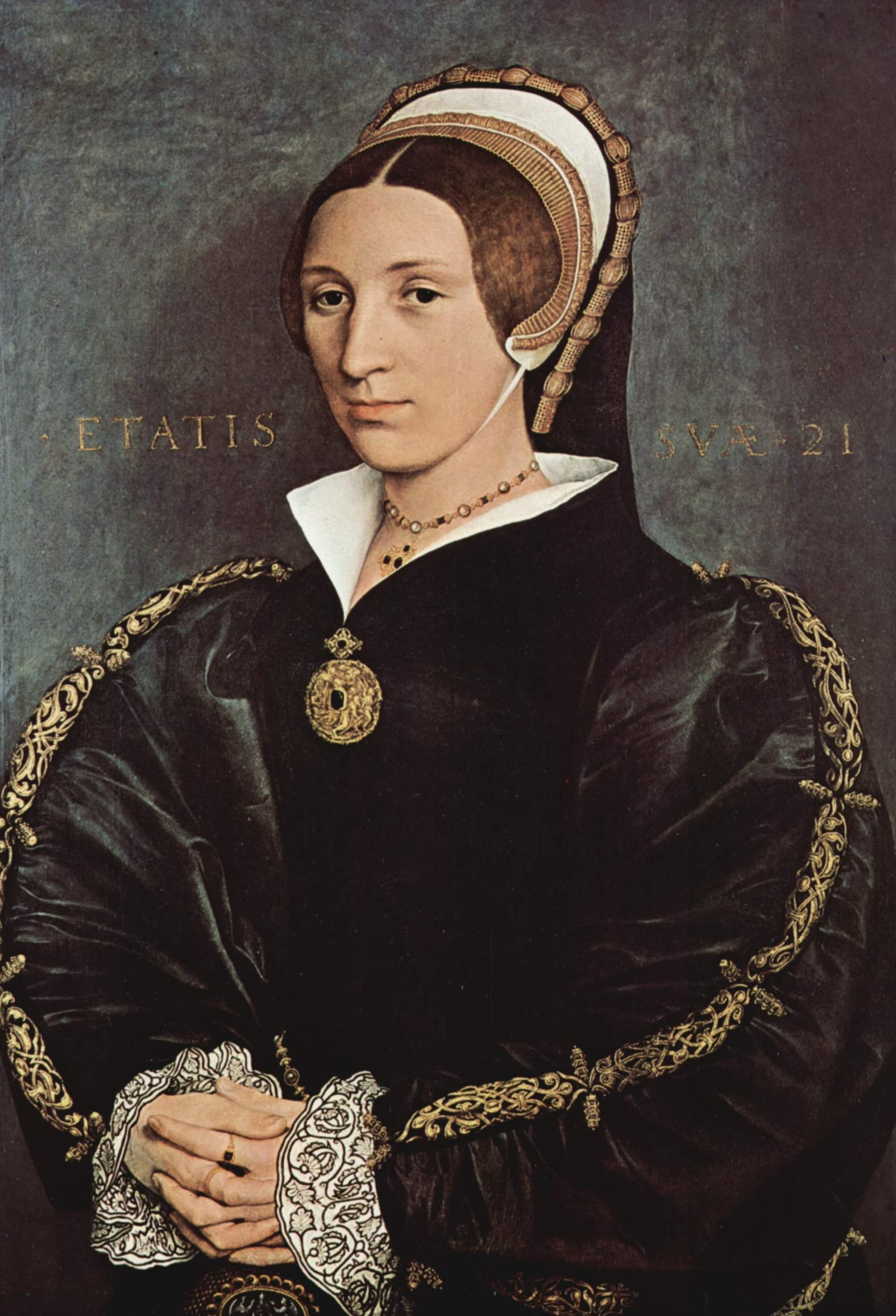 1540 (approx) - Holbein - Catherine Howard?
