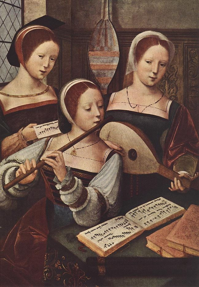 1530 - MASTER of Female Half-length - Concert of Women