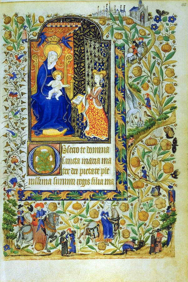 1430s - Book of Hours of Marguerite d'Orleans (western France)