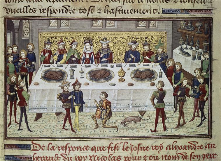 1440s - Le Livre des Conquestes et Faits d'Alexandre. - Jean Wauquelin - burgundian