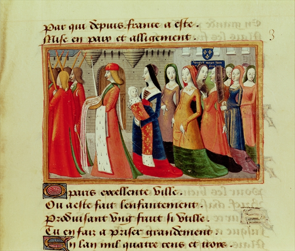 1484 - Presentation of the Dauphin to the City of Paris - by Auvergne Martial de Paris