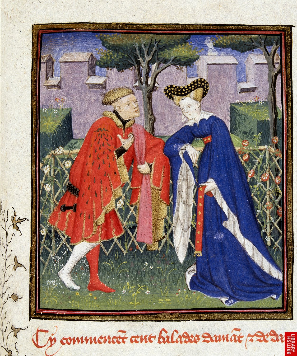 1410 - The Book of the Queen - by Master of the Cite Des Dames