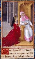 1492 - 1495 - Anne de Bretagne at Confession