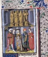 1473-1480 - from Les Fais de le Dis des Romains et de autres gens - attributed to Maitre Francois