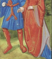 1495–98 - Young Love in the Spring Illuminated by the Master of Philippe of Guelders and the Master of Jacques de Besançon