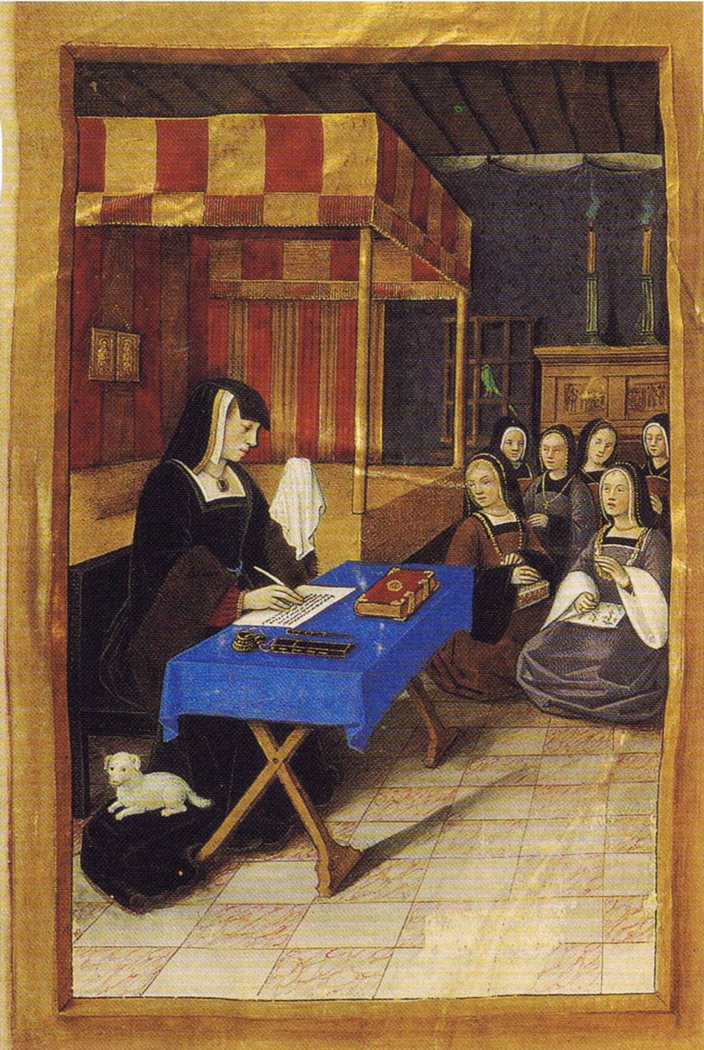 1504 (approx) - Epistres Envoyees au Roi - Fictive exchange of letters between Anne de Bretagne and Louis XII