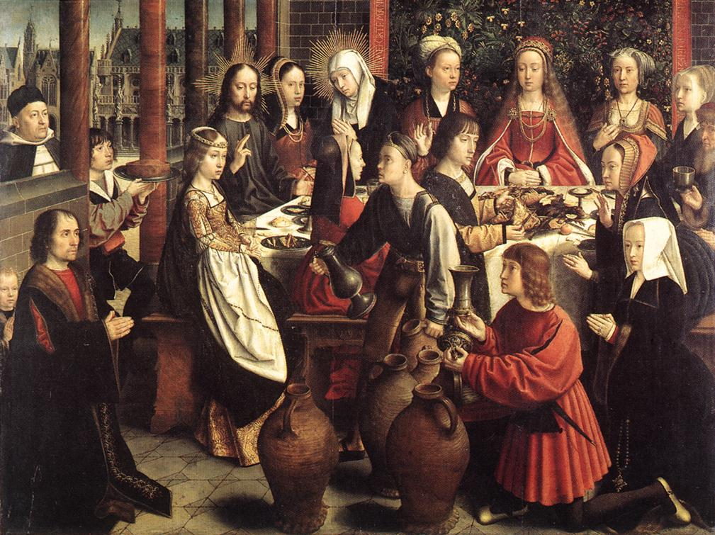 1500 (approx) - DAVID, Gerard - The Marriage at Cana