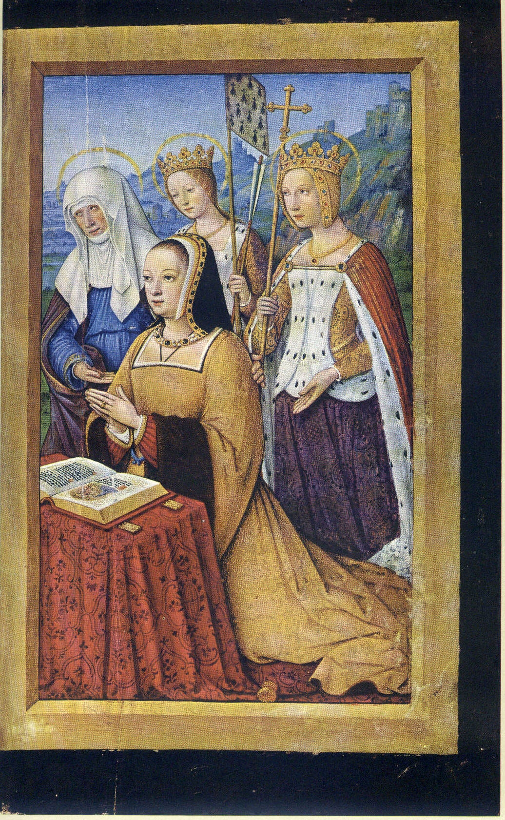 1500 - 1508 Hours of Anne of Bretagne - by Jean Bourdichon -