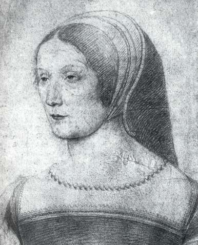 date unknown - Françoise de Foix, comtesse de Châteaubriant - Clouet?