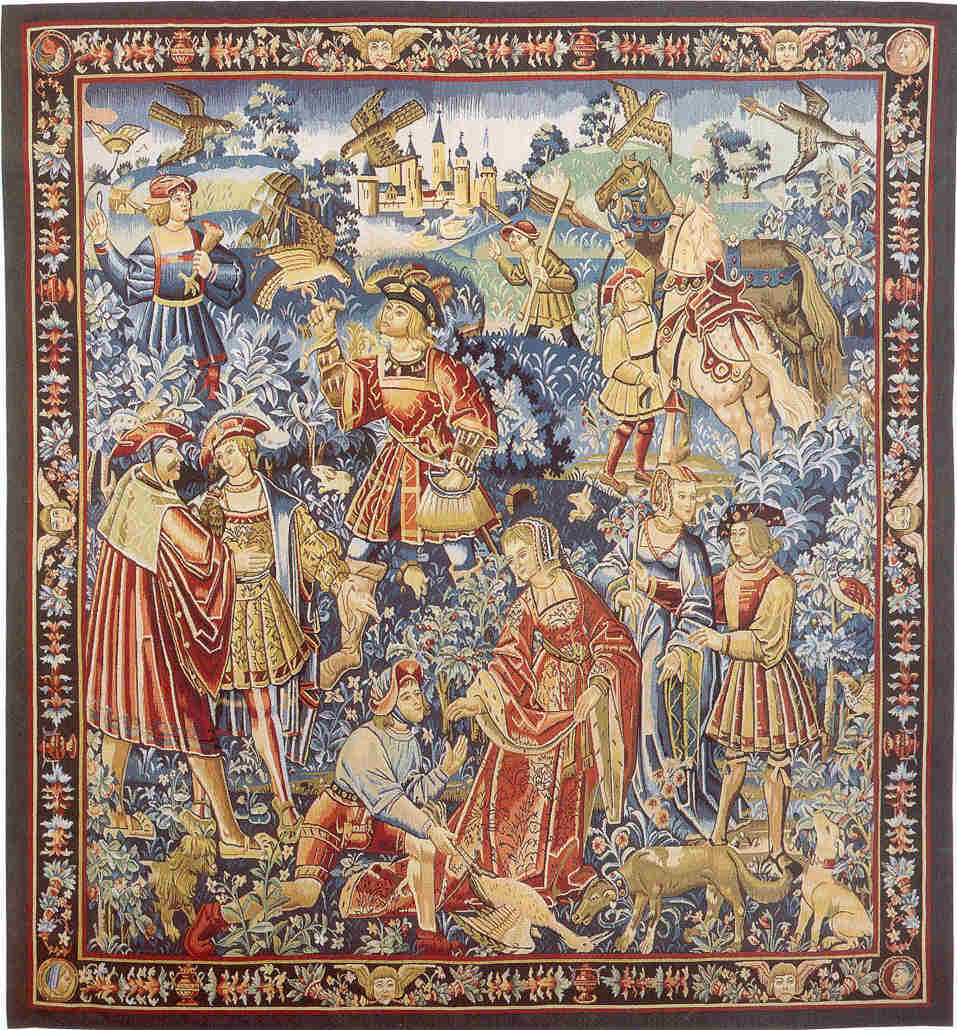 date unknown - La Chasse au Faucon tapestry