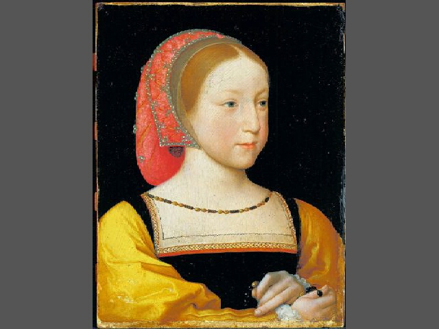 1522 - Portrait of Charlotte of France by Jean Clouet the Younger
