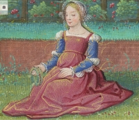 1517 - 1520 - Young Love in the Spring - Album of Calendar Miniatures, at Tours, Illuminated by the Master of Claude de France