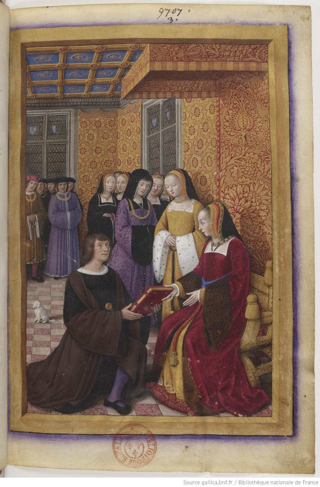 1516 - Jean Marot , Le Voyage de Gênes (closeup)
