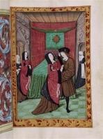 1500s - Histoire d'amour sans paroles : Scène un peu vive entre homme et dame