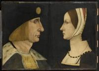 1500 (approx) - Louis XII (1462-1515) et d'Anne de Bretagne (1476-1514)
