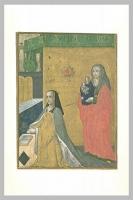 1500s - Anne de Bretagne avec sainte Anne tenant la Vierge à l'Enfant - miniature at the Louvre