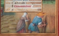 1503 - 1508 - Hours of Anne of Brittany for month of July - by Jean Boudichon