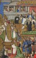 1517 - Le Sacre de Claude de France, church mass for the coronation of Claude de France - attributed to Jean COENE IV