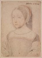 1524 - Renée de France duchesse de Ferrare et de Chartres- Jean Clouet